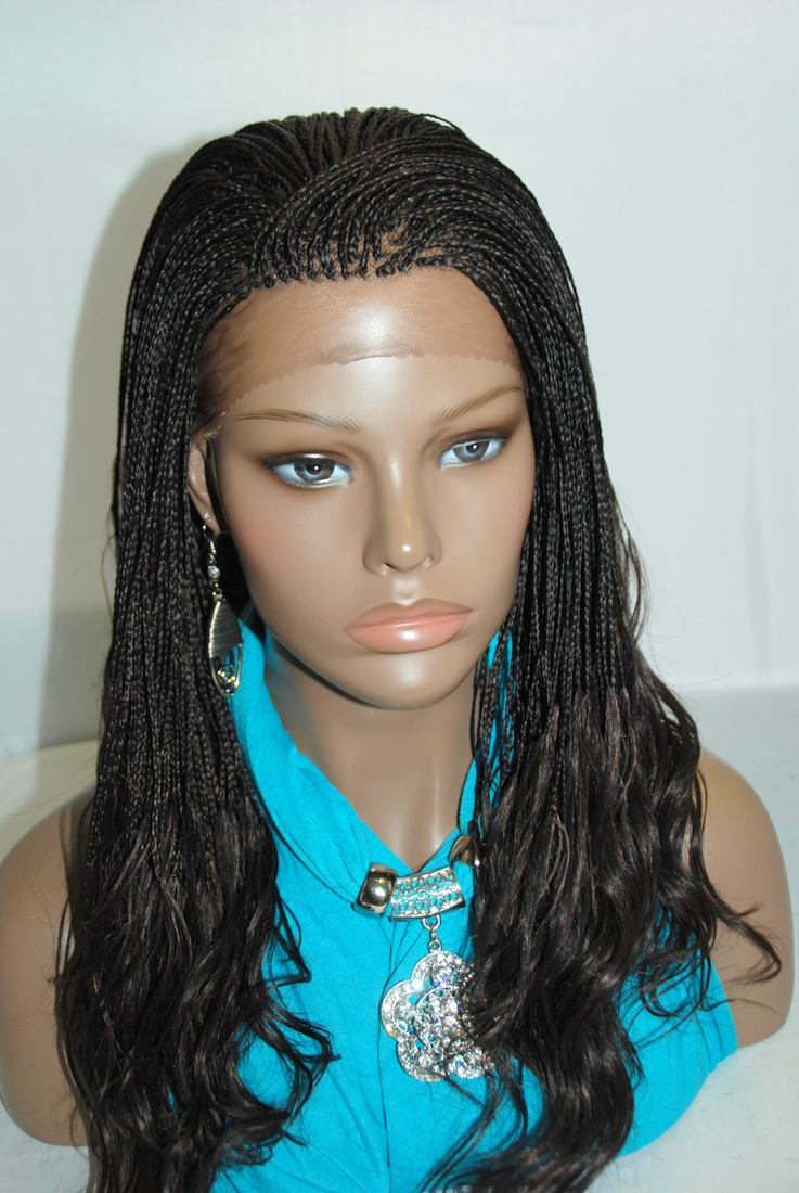 Awe Inspiring Braided Lace Front Wig Micro Braids 2 On Storenvy Hairstyles For Women Draintrainus