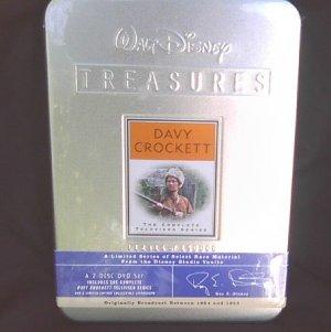 Disney Treasures Dvd Set Tin: Davy Crockett Complete Tv Series/buena Vista (2001) Oop Sealed