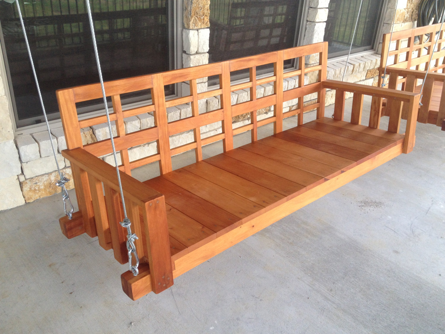Porch Swing (Outdoor swing, Patio Furniture, Swing ...