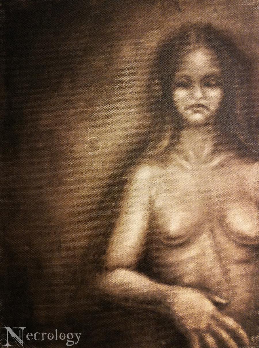 Think, dark gothic nude art