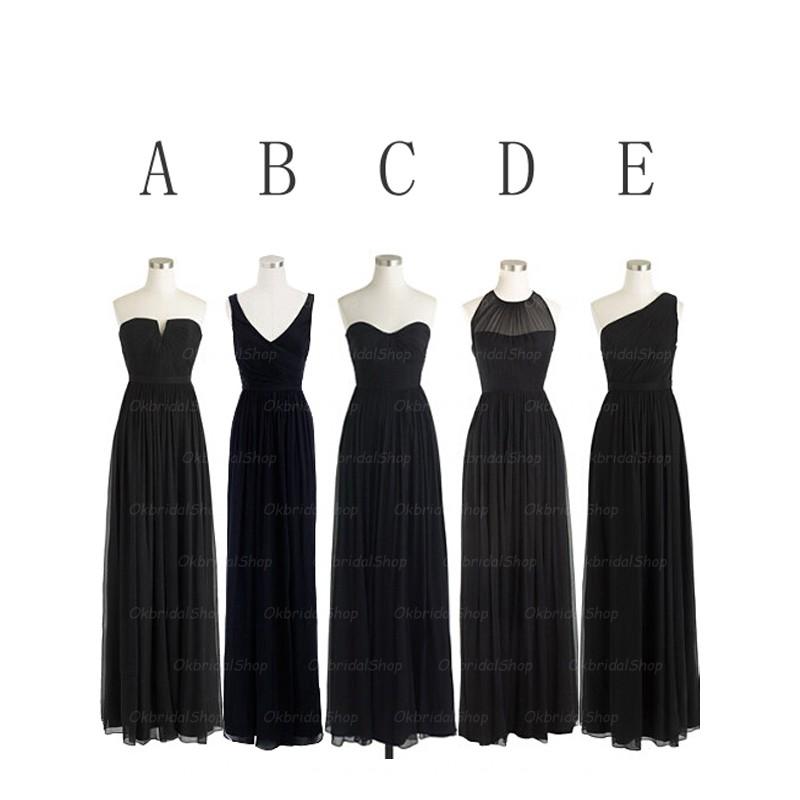 Black bridesmaid dresses c51b3e8fe