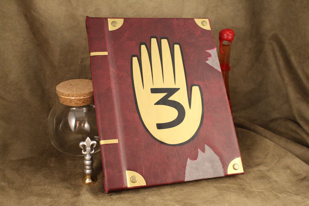 Gravity Falls Book / Kindle / IPad / Tablet Cover / Journal Book 3 from  Geekify