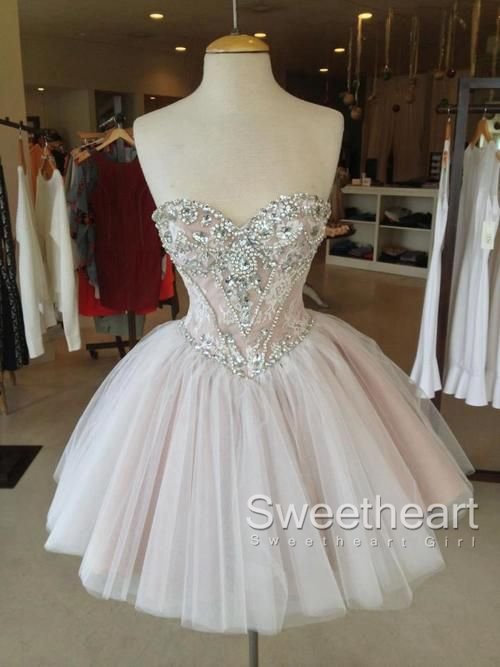 Sweetheart Tulle Short Dress