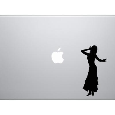 Tango Latin Salsa Samba Dance Solo Dancer Version 1 Car Tablet Vinyl Decal