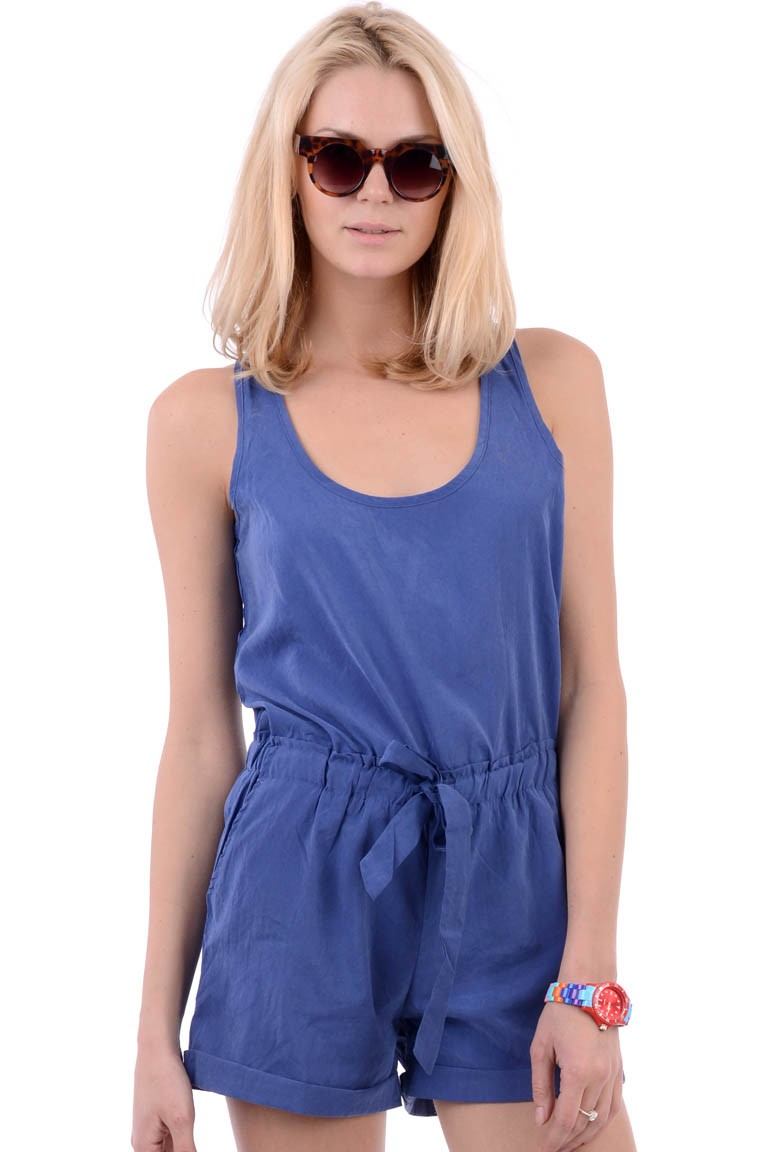 36c16302d412 Romper with Keyhole Back · HARPER BLOOM · Online Store Powered by ...