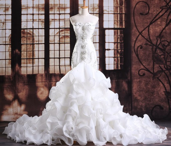 Plus Size Monroe Fit N Flare Glam Wedding Dress From Curvy Brides