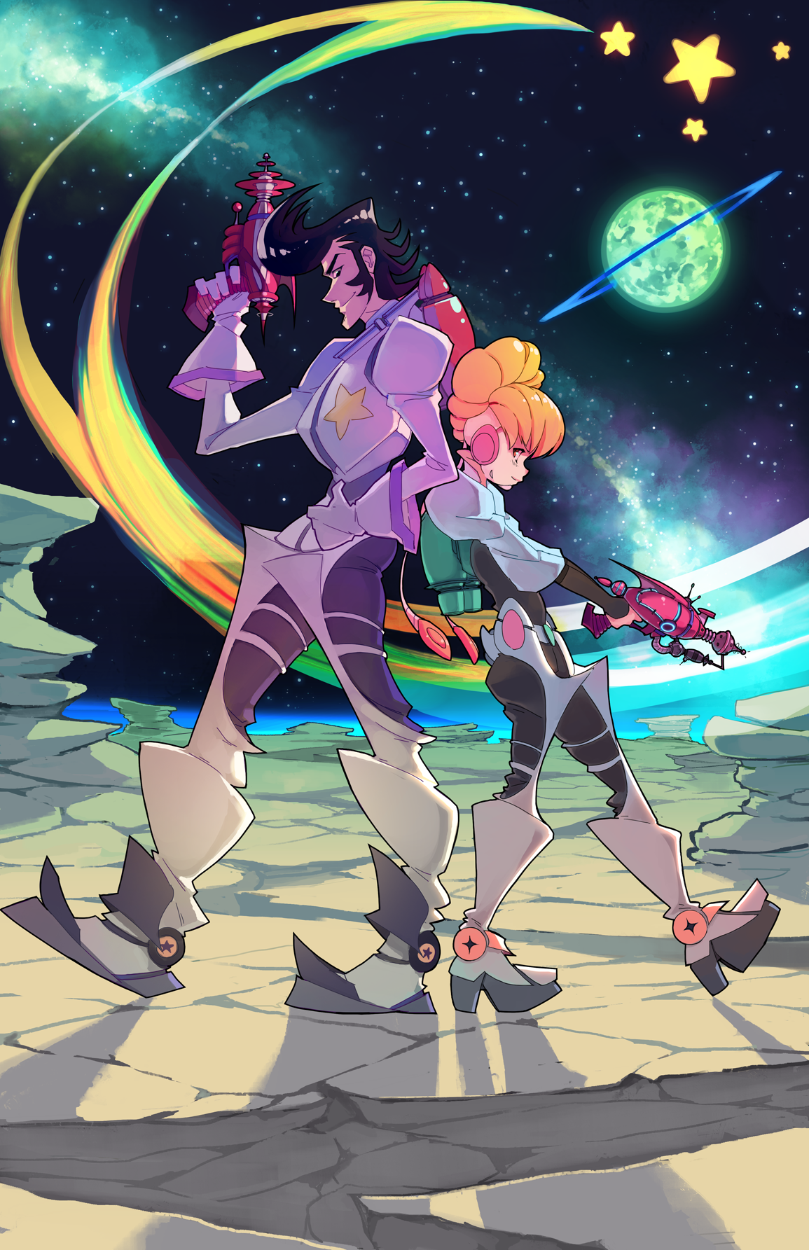 Space Dandy 11x17 Poster On Storenvy