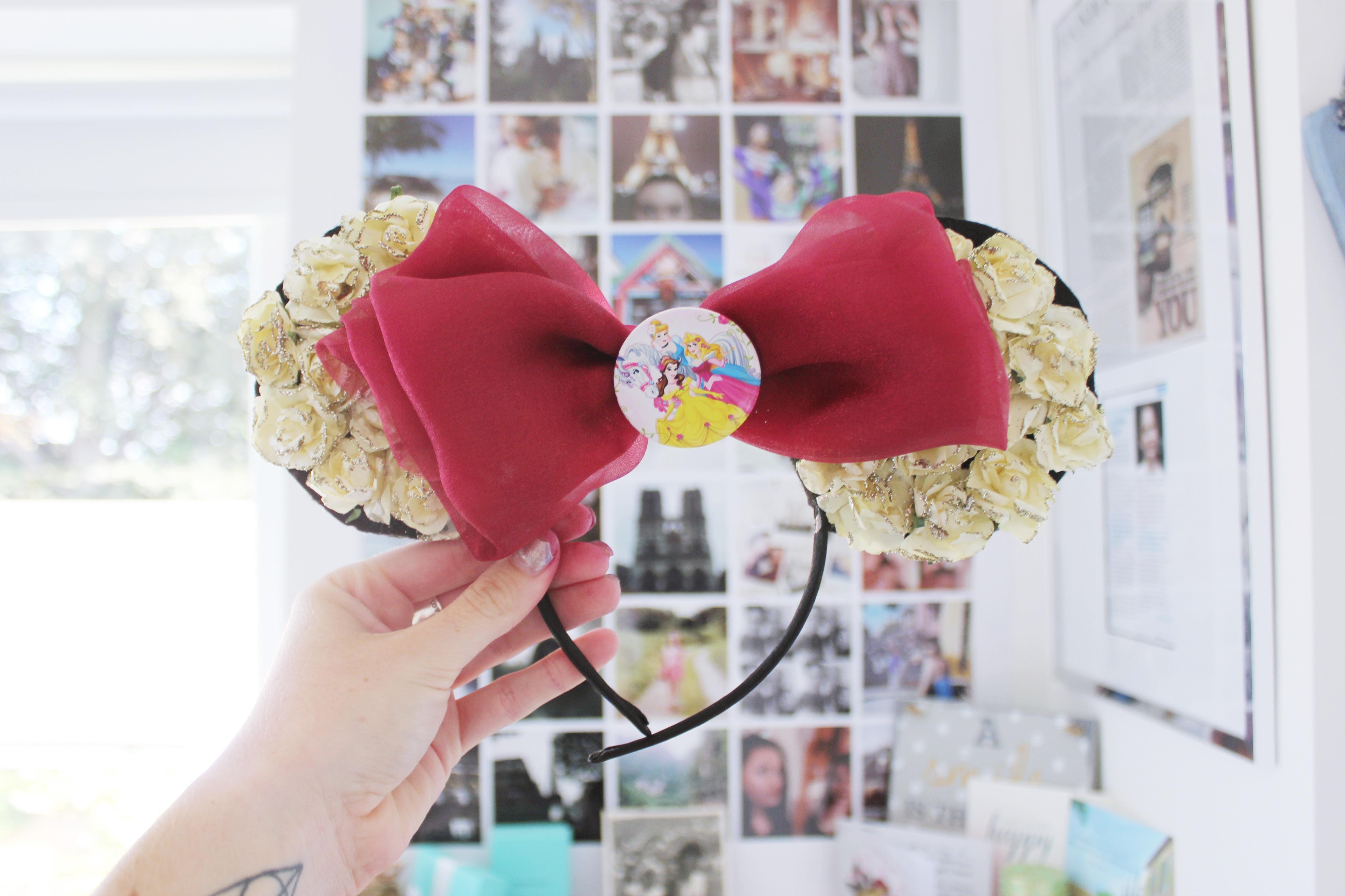 9294c712ba6cf Disney Mickey Mouse Ears Headband Princesses on Storenvy