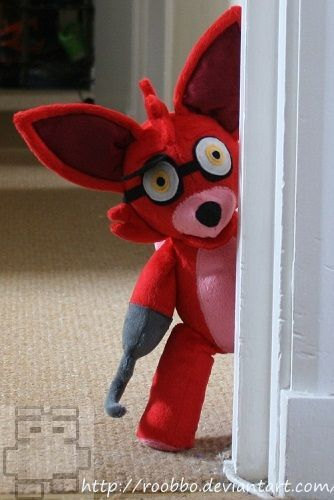 Five Nights At Freddy S Foxy Plush On Storenvy
