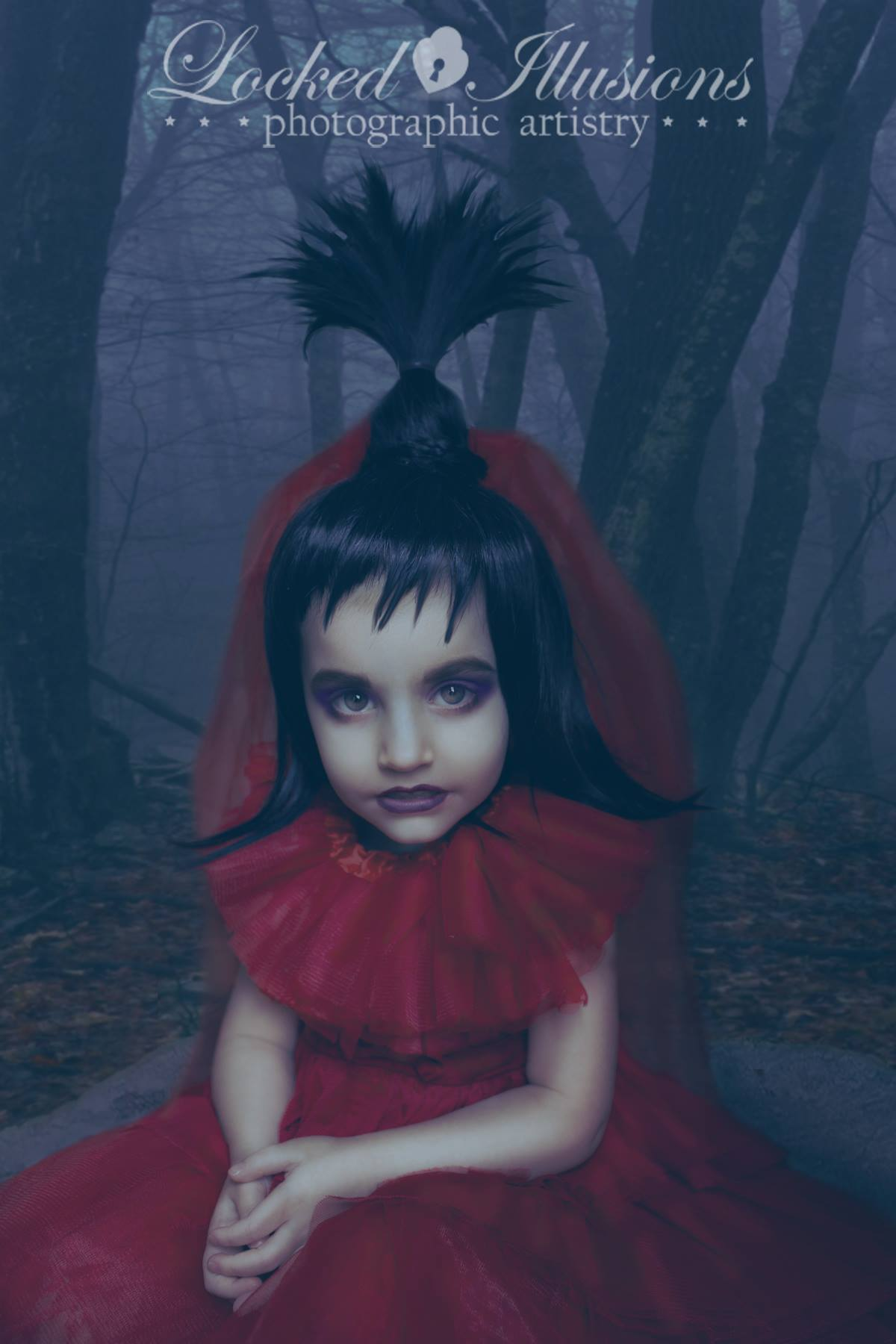 Lydia Deetz Beetlejuice Red Wedding Dress- Costume -Cosplay-bridal ...
