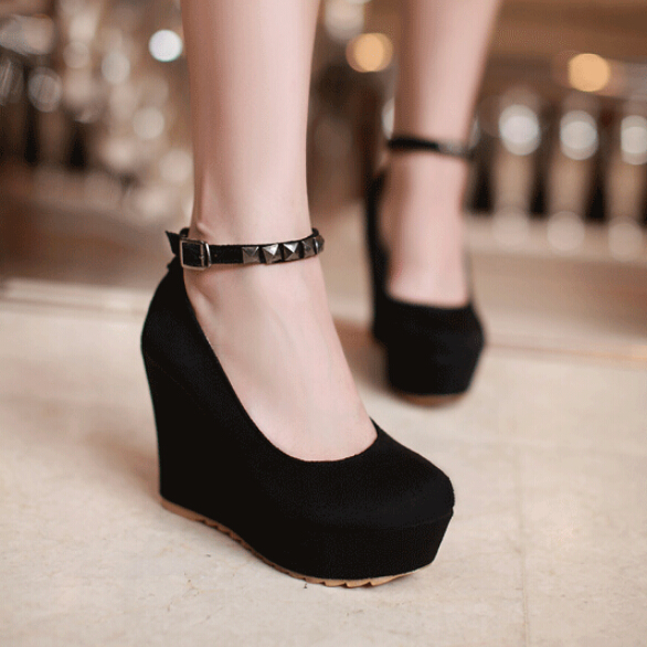 Lolita platform shoes high heels