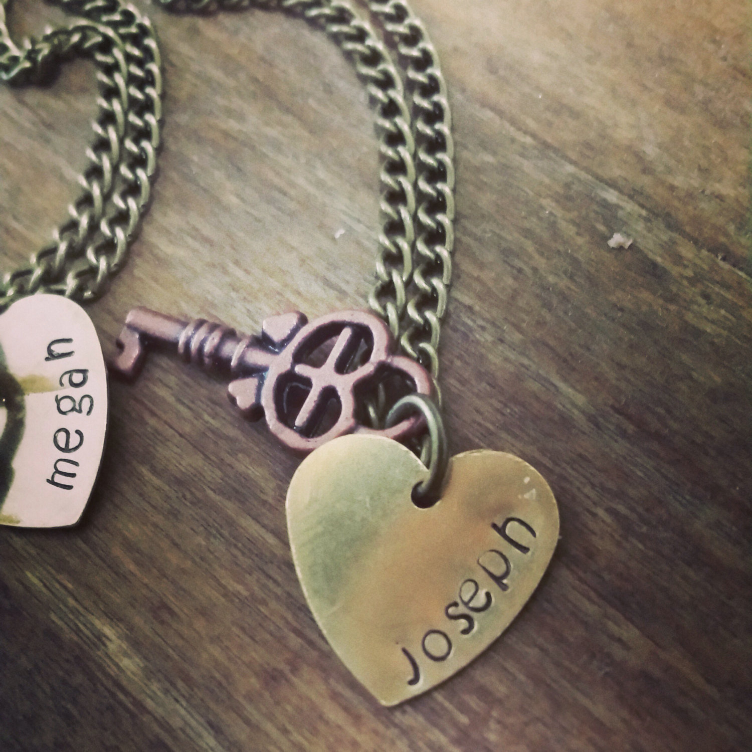 82fe0691eb ... Personalized Couples Necklace Set - Lock and Key Necklace Set - Best  Friend Necklace - Friendship