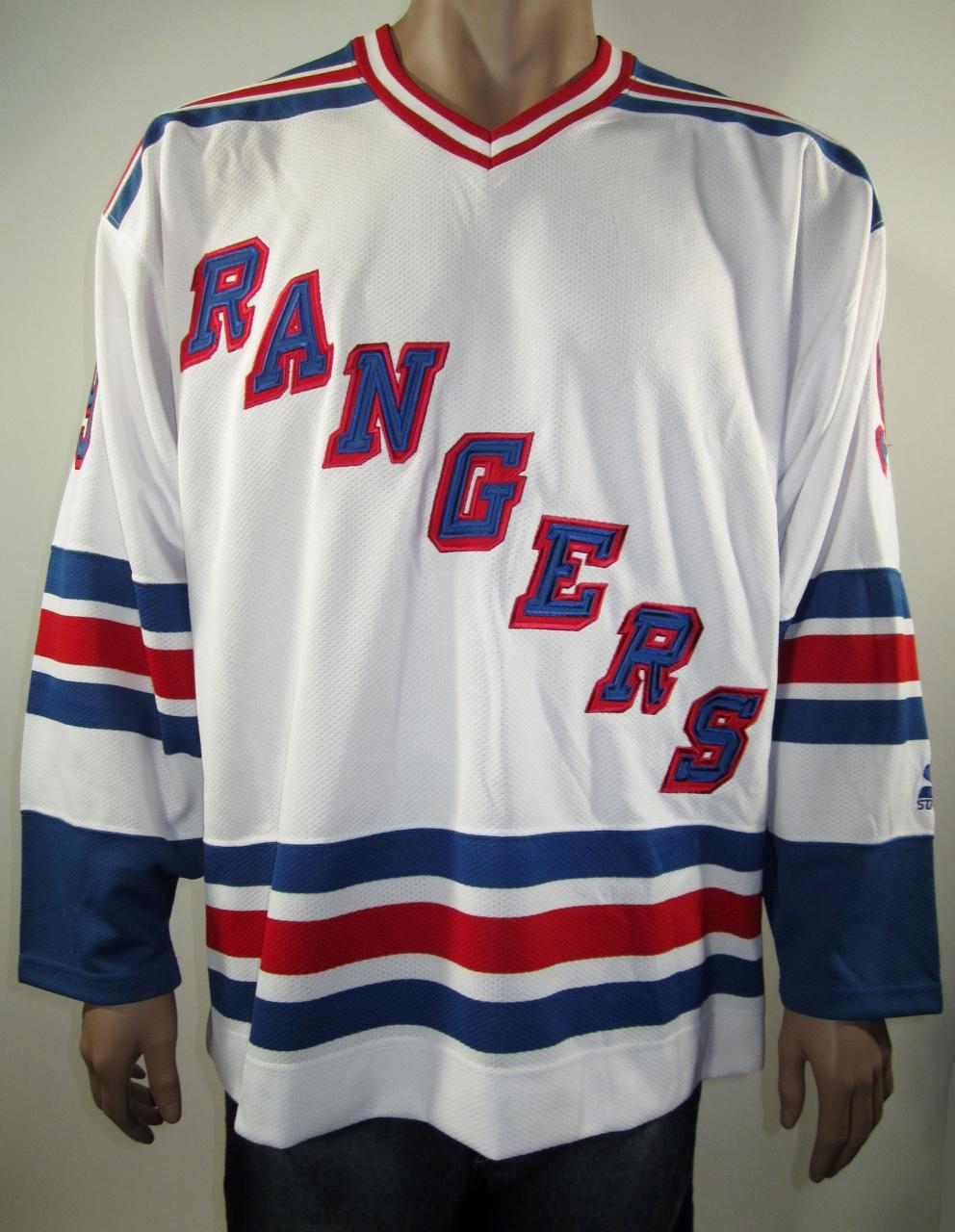 ae24a239bdb Wayne Gretzky New York Rangers Starter Hockey Jersey XL NWT ...