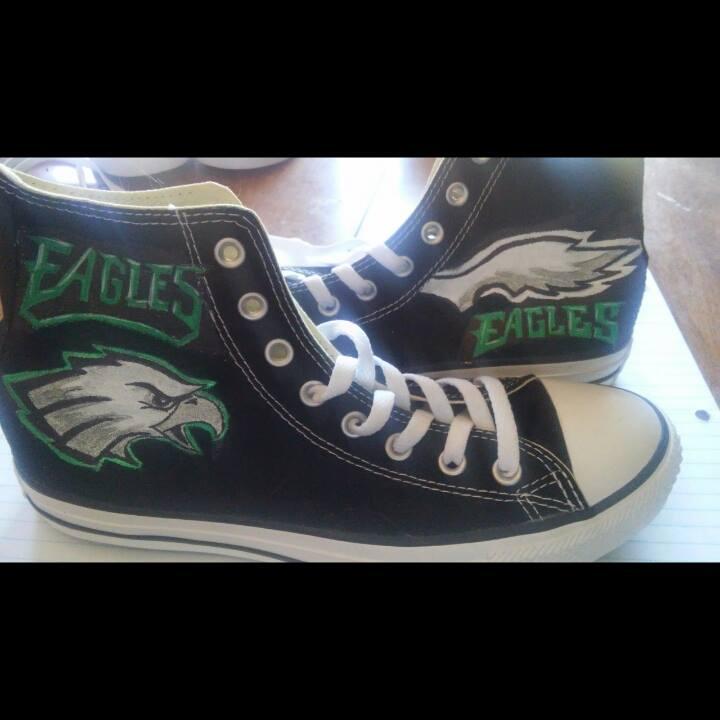 Philadelphia Eagles hand painted