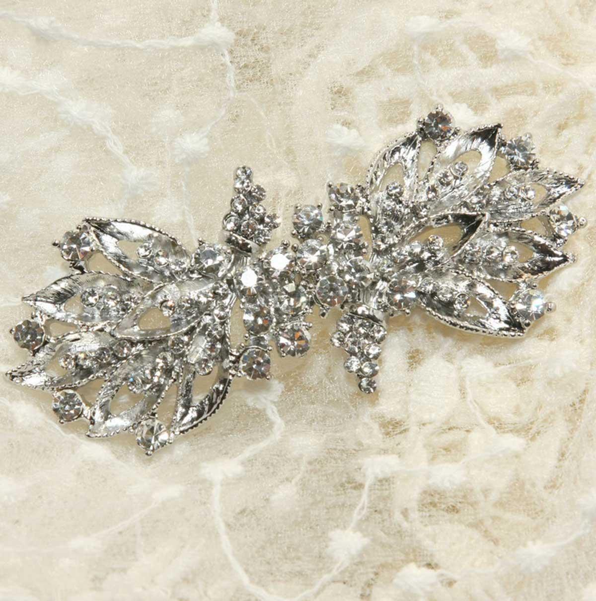 Dress Sash Belt Crystal Rhinestone Wedding Bridal Clasp Buckle