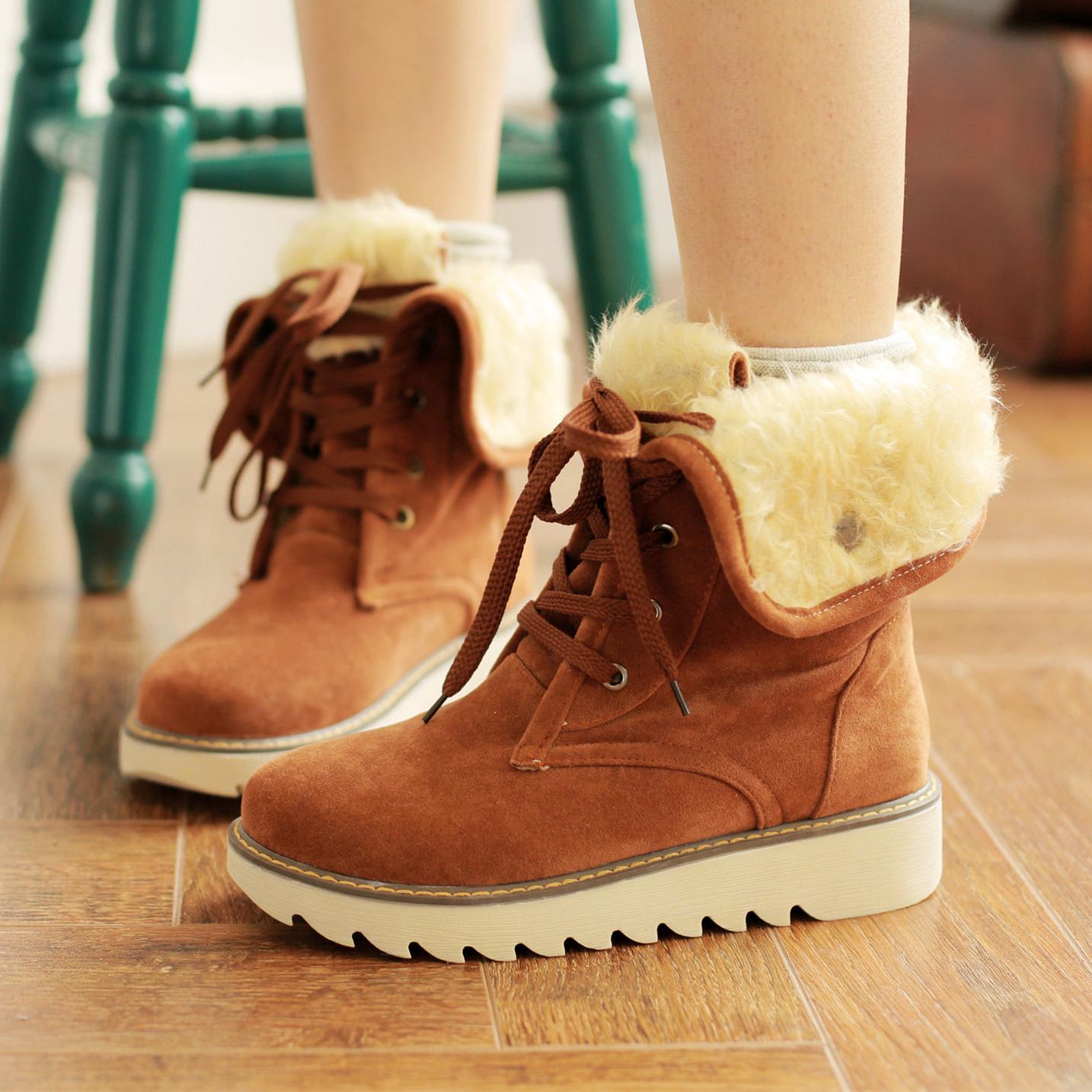 Womens Cute Snow Boots