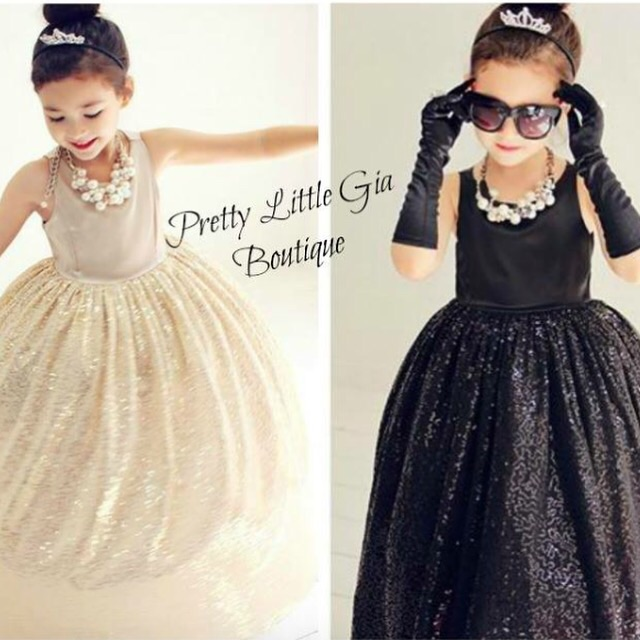 Image of Audrey Hepburn Inspired Ball Gown