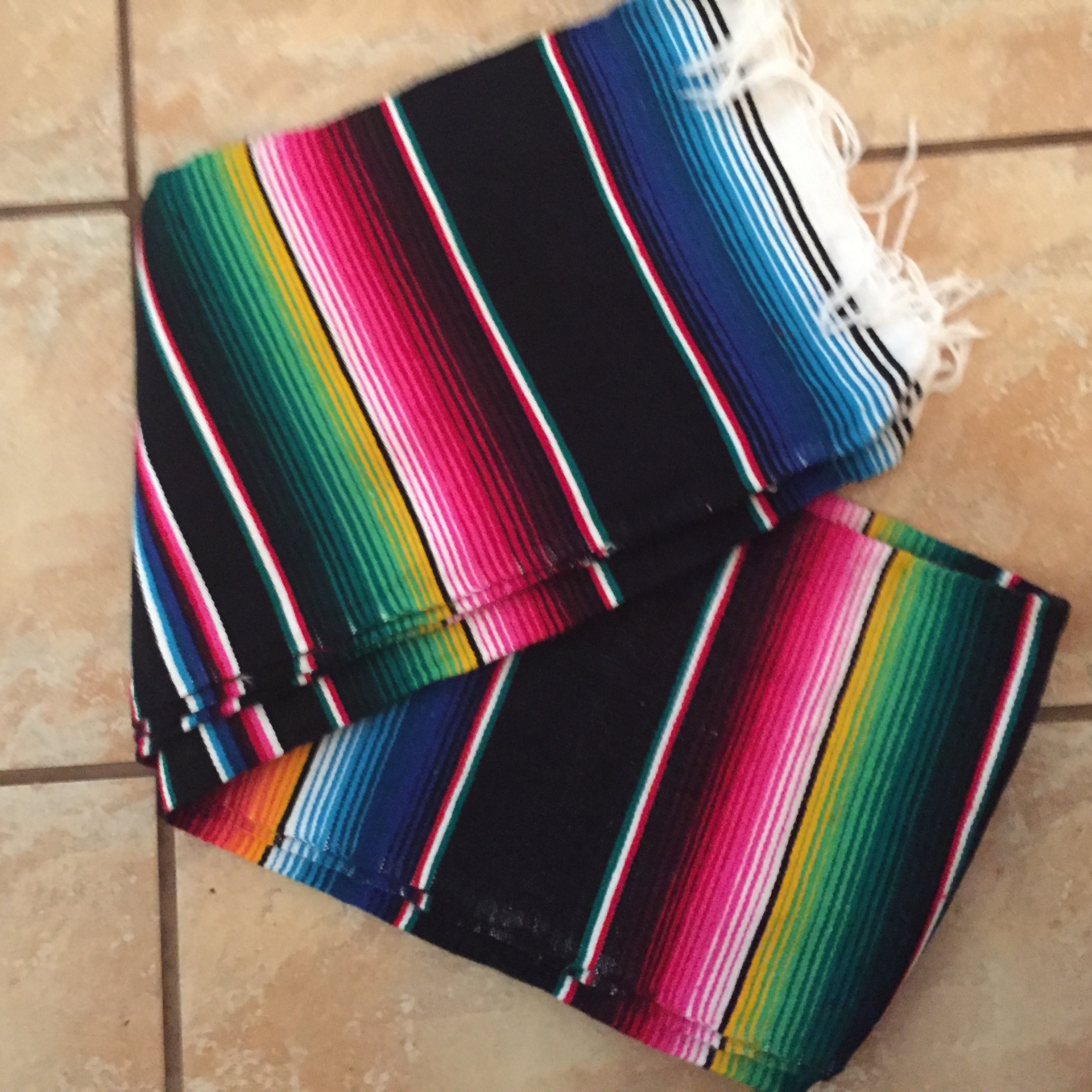 5b3e3b4dac Mexican Blankets MULTI COLORED · Mermaid Twin Co. · Online Store ...