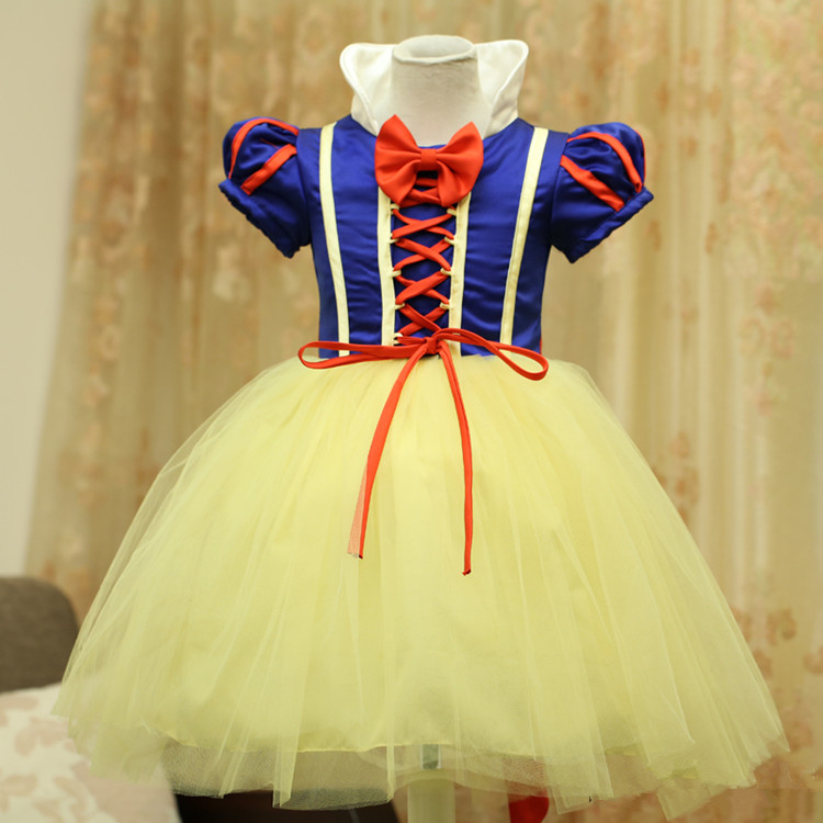 9533a472196 [Kid Cosplay] Snow White Princess Cosplay Costume Dress CP153381