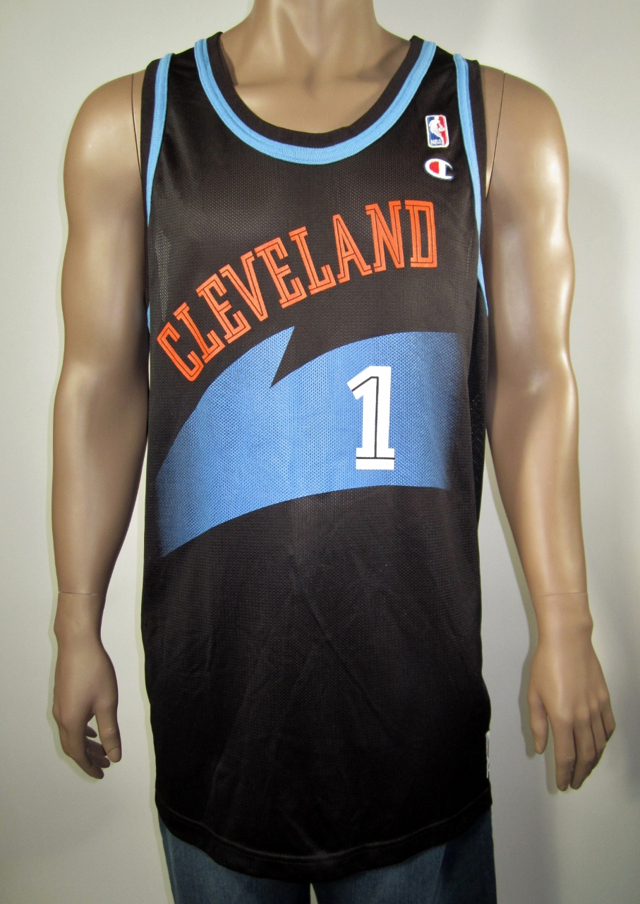new product b79a4 42749 Terrell Brandon Cleveland Cavaliers Champion Jersey 52 NWT from DFRNSH8