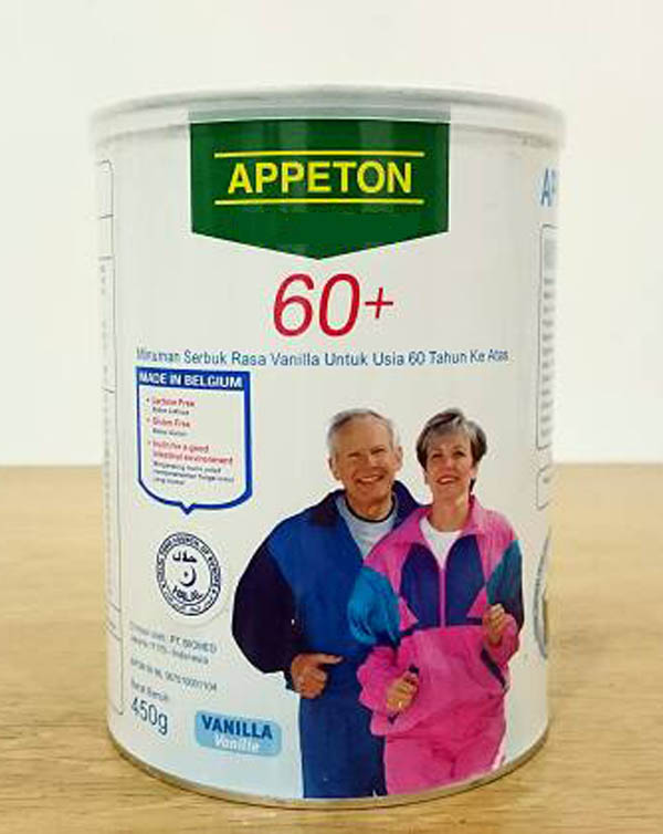 Milk Powder Appeton Weight Gain For 60 Age Vanilla Flavor