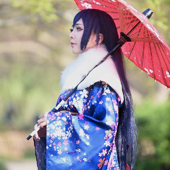 Love Live Kimono Cosplay