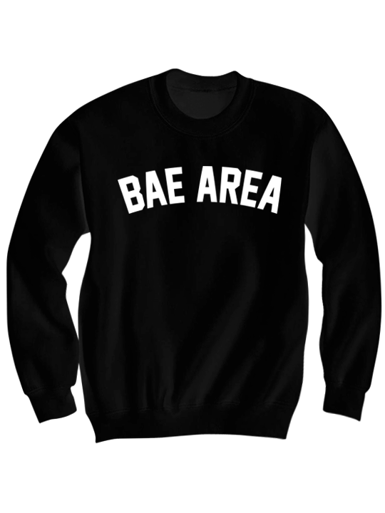 BAE AREA SWEATSHIRT WOMENS TOPS UNISEX SIZES CHEAP SWEATERS GIFTS CHRISTMAS COUPLES SHIRTS CUTE