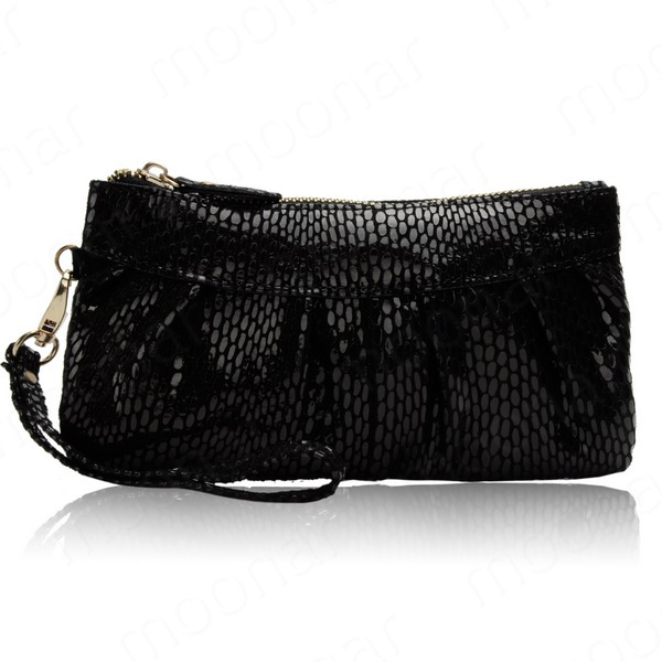 Leather Designer Oval Pattern Women Wallets Handbag Purse Clutch (37589247 Rainbow Fashion) photo