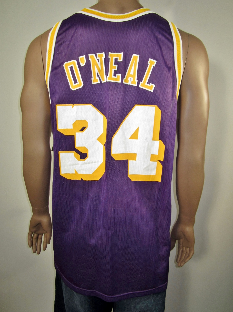 Shaquille O Neal Los Angeles Lakers Champion Jersey NWT on Storenvy 248080087