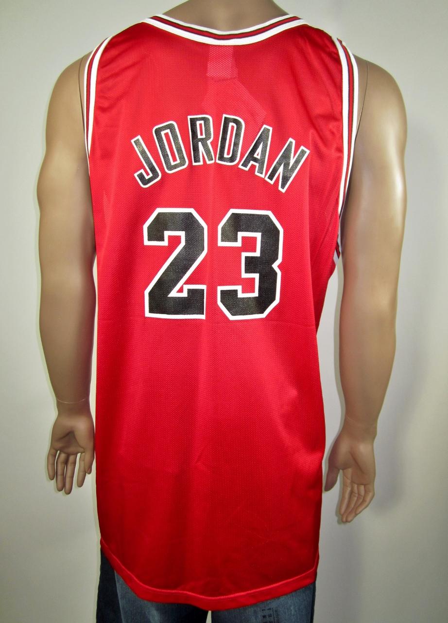 7ddcb4361ed Michael Jordan Chicago Bulls NBA 50 Gold Logo Rookie Champion Jersey 52 NWT  - Thumbnail 1 ...