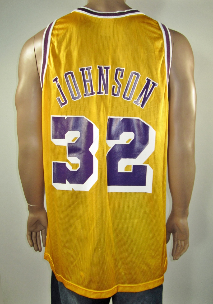 415cd4ca142f Magic Johnson Los Angeles Lakers Champion Jersey 48 NWT on Storenvy