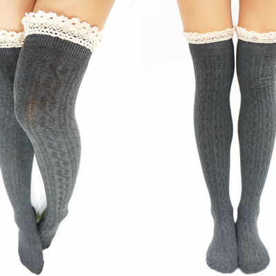 5b58f4520a2c9 Thigh High / Knee High Socks · Sandysshop · Online Store Powered by ...