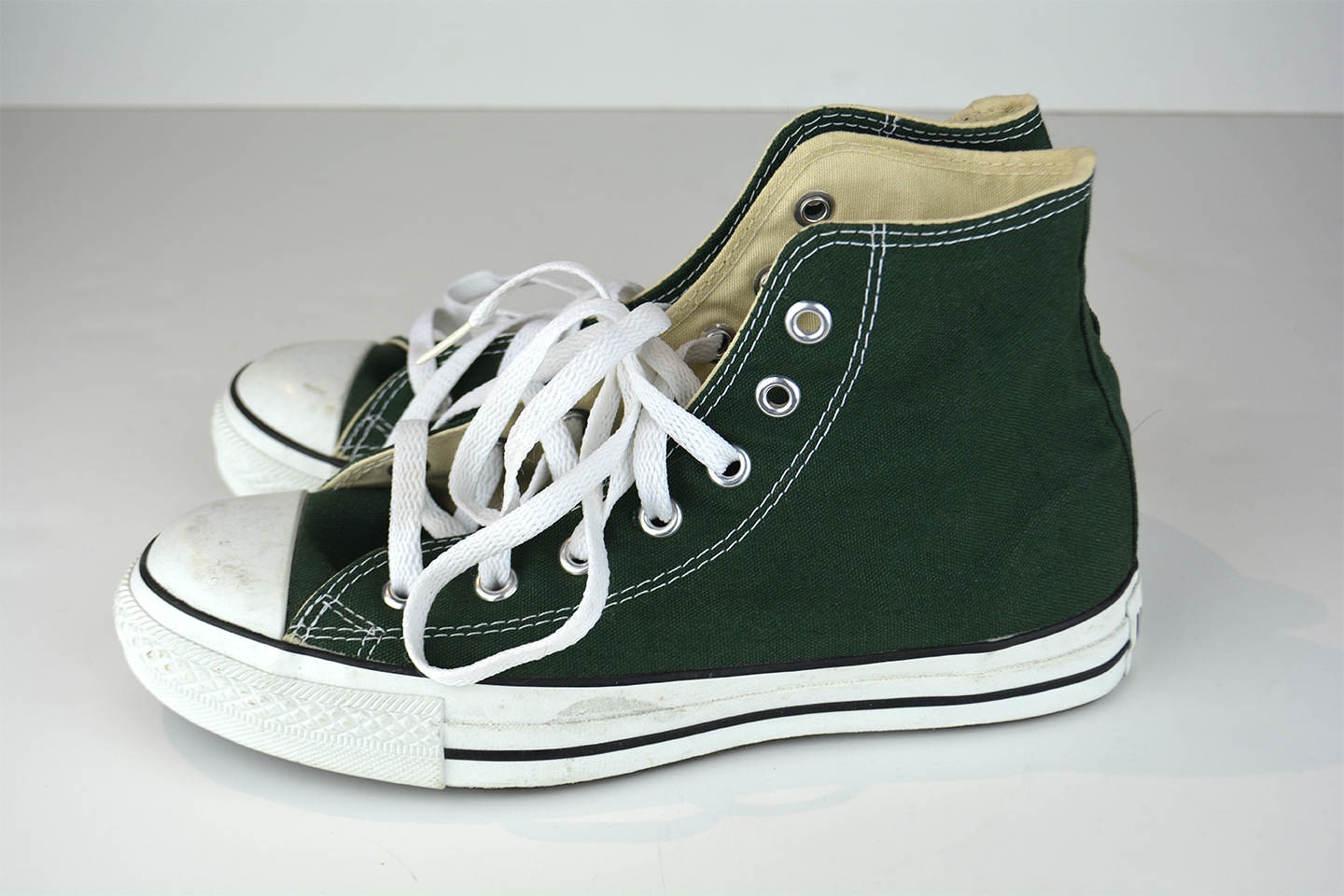 2cd7017d57f6 Green Converse High Tops · BraShop · Online Store Powered by Storenvy
