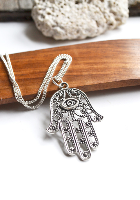 Hamsa Hand Necklace Evil Eye Protection Necklace Hamsa Jewelry Evil Eye Jewelry Canadian Jewellery Christmas Gifts Sister 183 Fauna And Forest