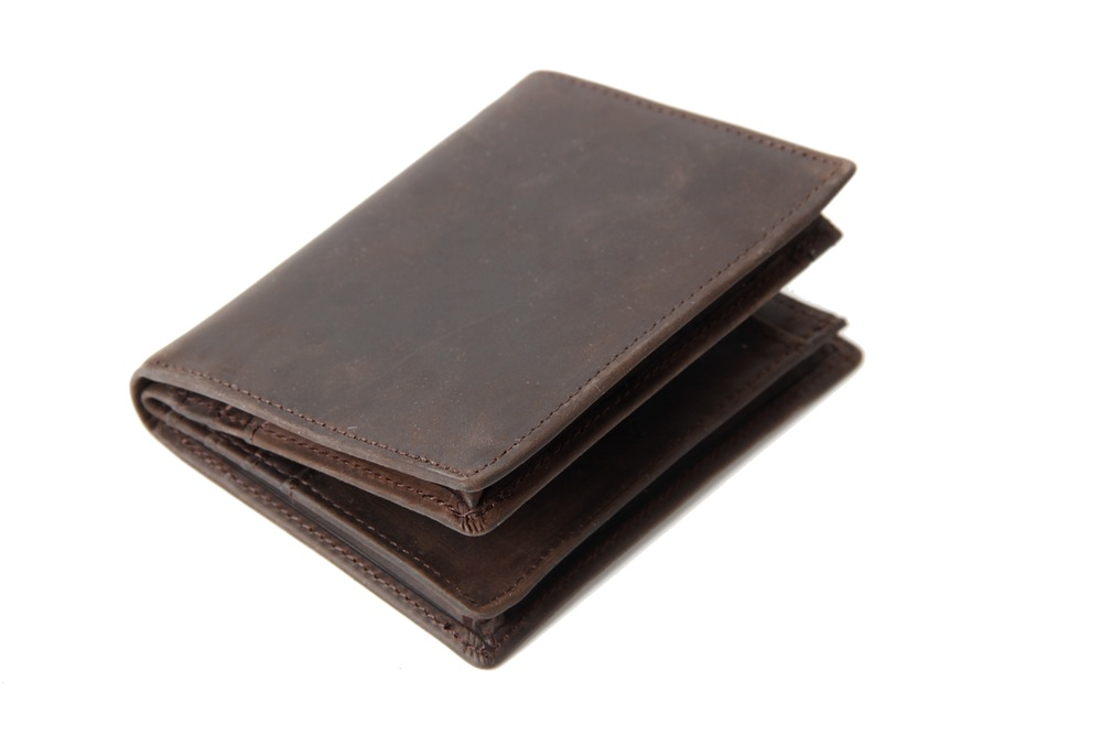 Handmade Custom Wholesale Genuine Leather Wallet Money Purse Bag Men Short Wallet Card Holder 197 (37402176) photo