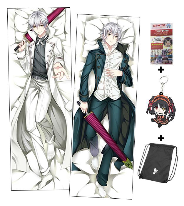 Brand New K Project Male Anime Dakimakura Japanese Hugging Body Classy Anime Boy Body Pillow Covers