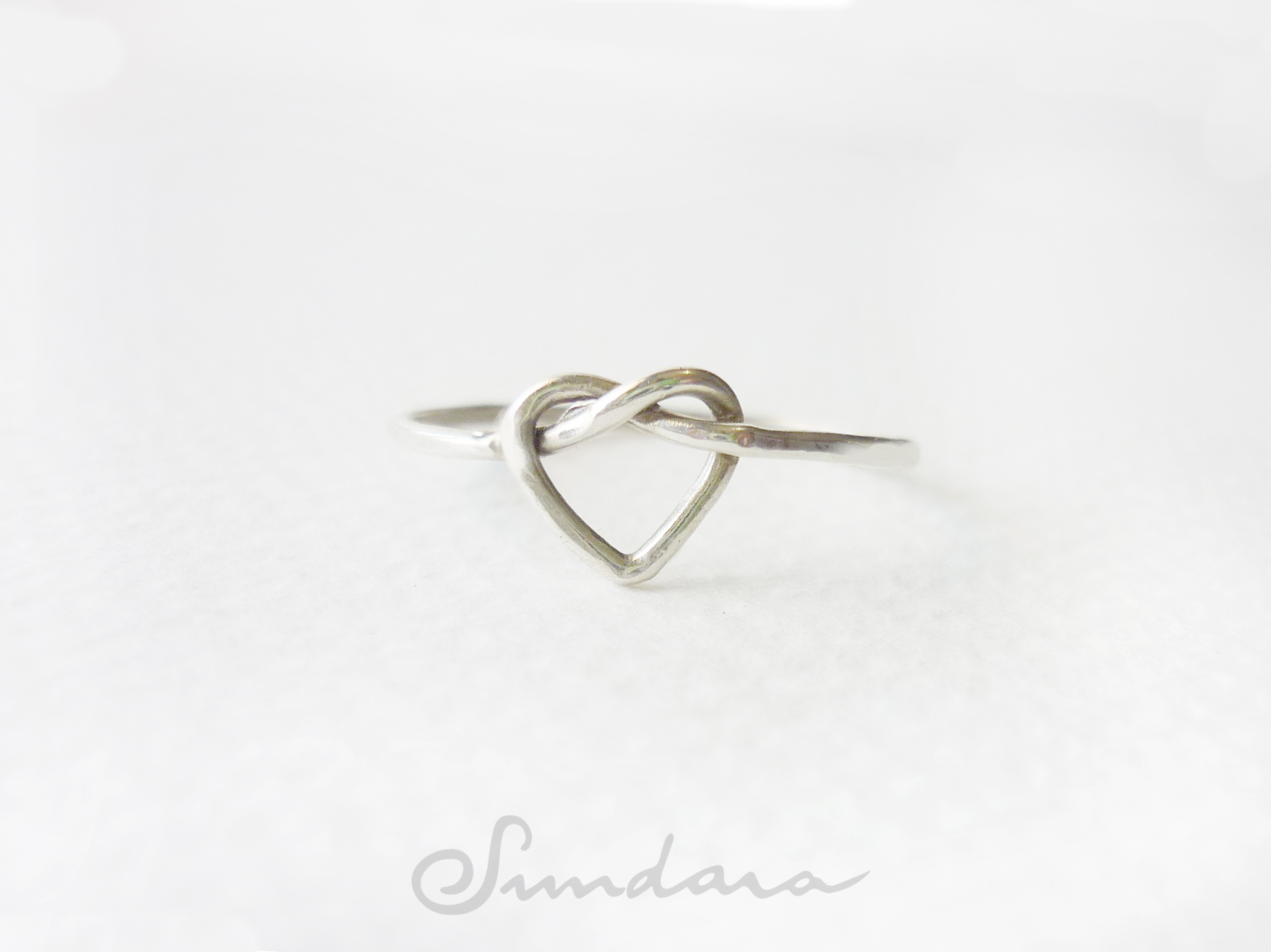 Silver Heart Knot Ring Sundara Artisan Jewelry Online Store Powered By Storenvy