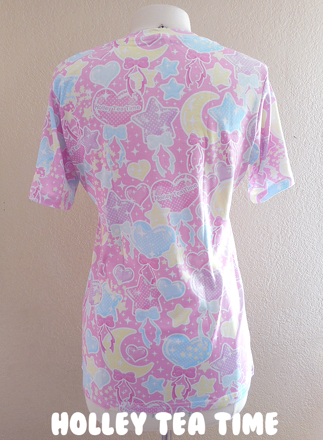 baa3e292e ☆ Pastel party ☆ all over print t-shirt made to order ✧ Fairy kei ...