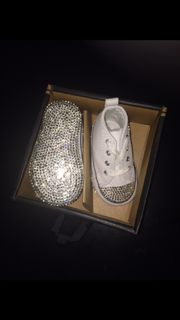 Converse Bling Bottom Crib Shoes · THE BLING QUEEN · Online Store ... e1b467fd3
