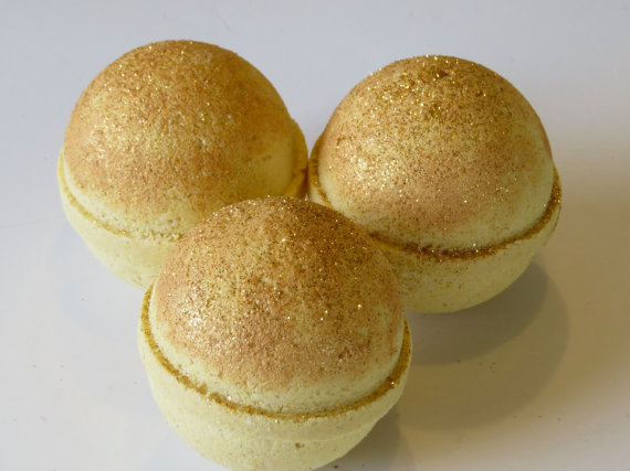 Golden Goddess Bath Bomb