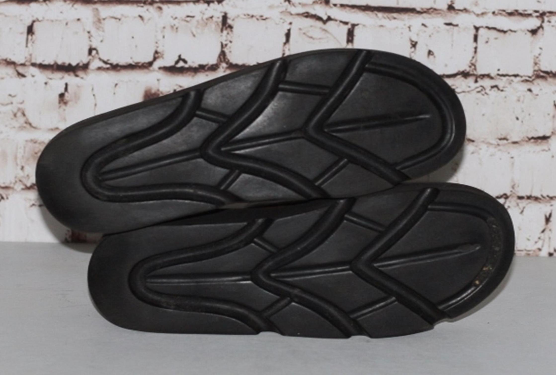 86f8e3dd4dc Vintage 90s Chunky Sandals Mega Platform Leather Brown Tooled floral ...