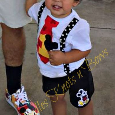 Boys First Birthday Tshirt Or Onesie Mickey Mouse Shirt 1st 2nd Second Needles Knots N Bows Online Store Powered By Storenvy