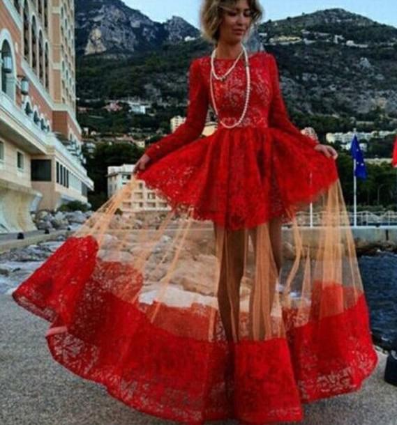 683b7e006bd red prom dress