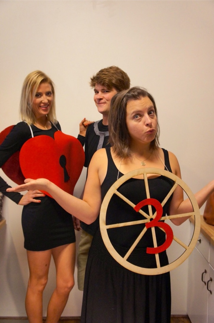3rd Wheel Punny Halloween Costume Duel Design Shop Online Store Powered By Storenvy