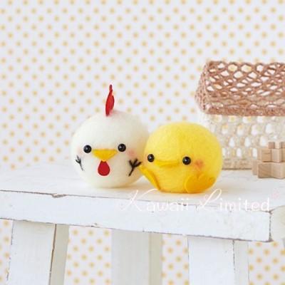 Hamanaka Kawaii Cute Floating Chicken Chick Baby Ball Japanese