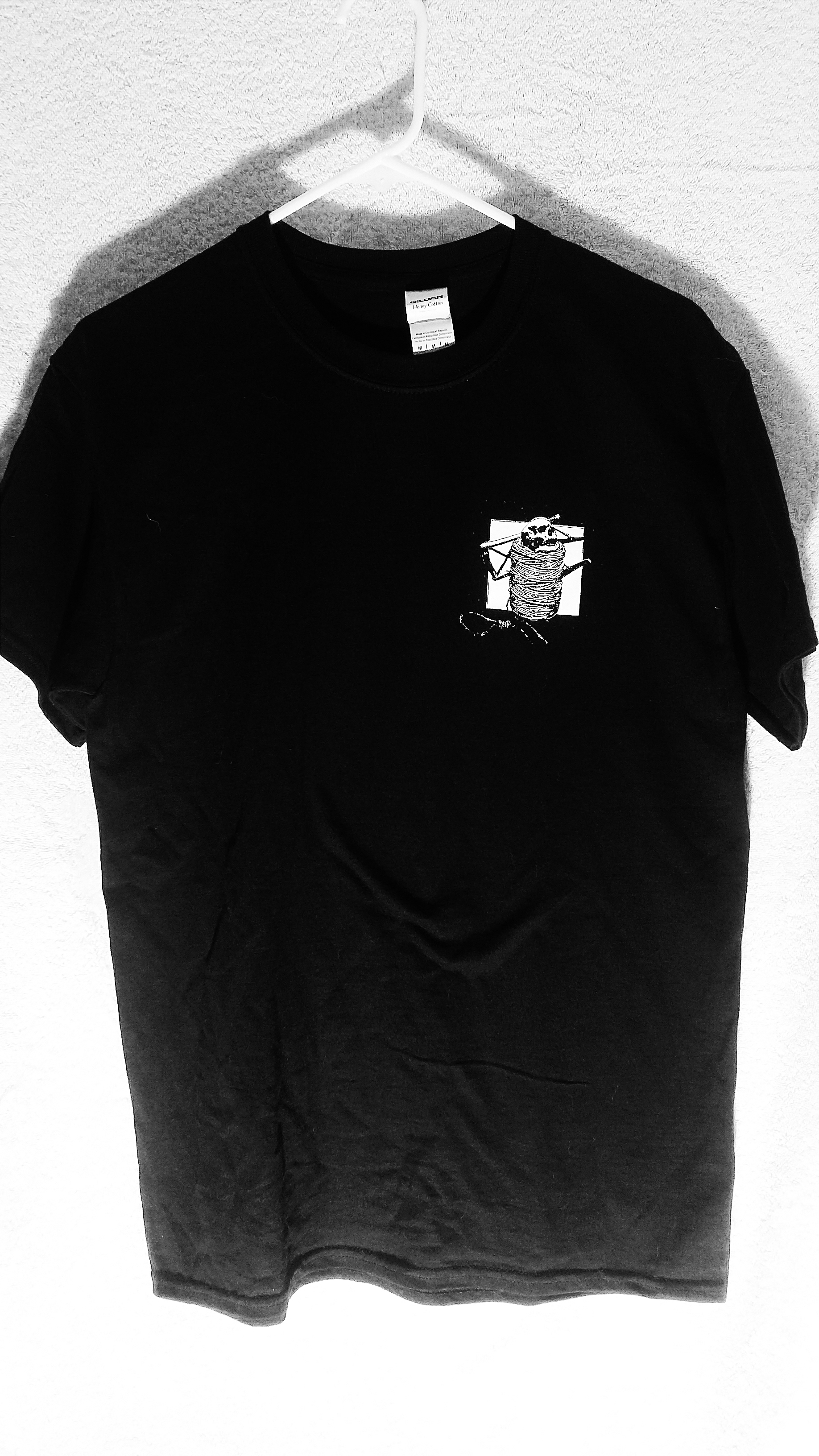 3727251b TRASH AGE LOGO T-SHIRT (BLACK) on Storenvy
