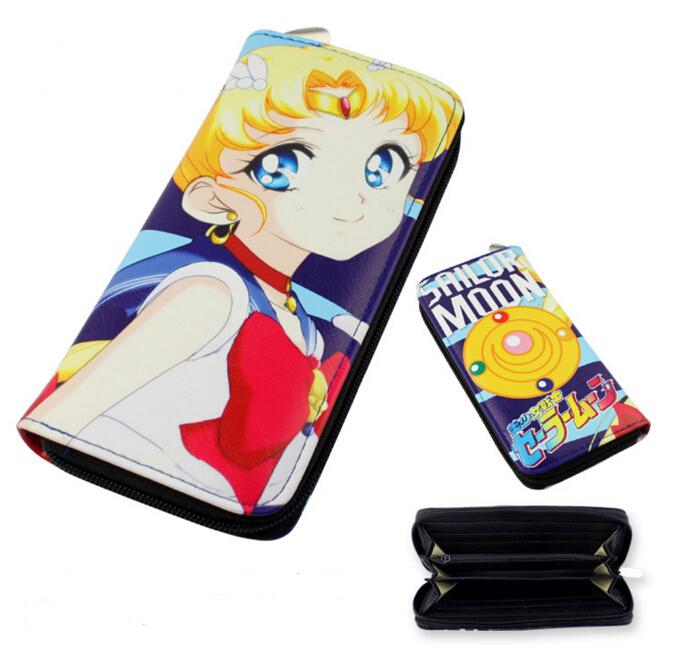 Kawaii Sailor Moon Zipper Wallet Purse (42089841) photo