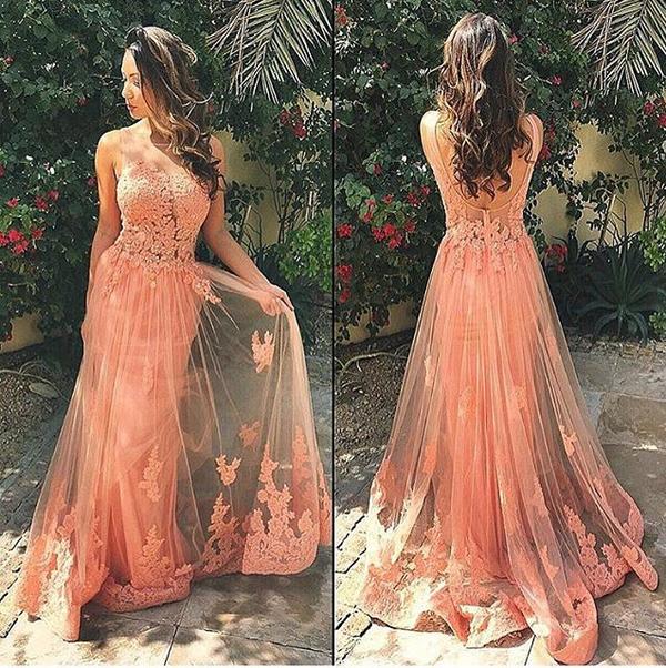 Long Prom Dress, Off Shoulder Prom Dress, Lace Prom Dresses, Junior ...