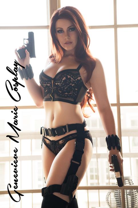 Genevieve Marie Presents Black Widow Classified Ii On