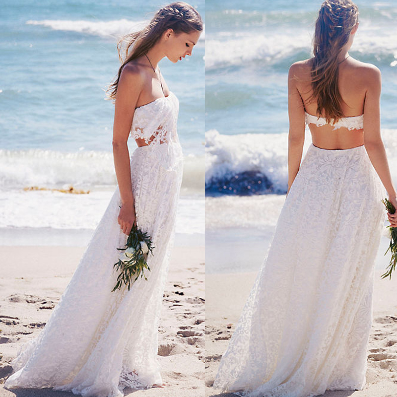 Wedding Dress 2016 Vintage Wedding Dress Lace Wedding Dress Beach Wedding Dress Simple Beautiful Wedding Dress Custom Made Wedding Dress Pd160498